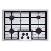 Bosch NGM5055UC 500 Series Silver Stainless Steel 30 inch Gas Cooktop