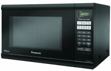 Panasonic 1 2 Cubic Microwave Oven with Inverter   Black