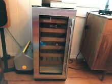 Subzero 30in x 15in x 21in wine cooler with 6 pull out shelves