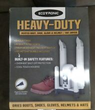 ECOTRONIC Heavy Duty Heater Boot  Shoe  Glove   Helmet Hat Dryer