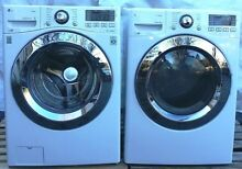 LG Combo Washer Washing Machine WM3670HWA   Electric Dryer DLEX3370W White Set