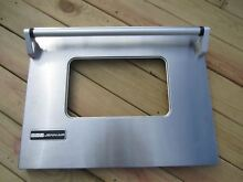 Jenn Air  Whirlpool  Stove  Oven Parts  Stainless Door Panel 74066327  71002866