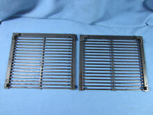 General Electric OEM Stove  Range  Oven Parts  Downdraft Grill Grate Set