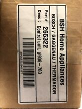 265322 00265322 Bosch   Thermador   Gaggenau OEM Dishwasher Circuit Board