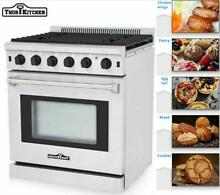 30  Thor Kitchen Stainless Steel Gas Range Oven with 5 Burner LRG3001U