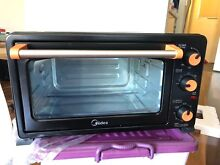 Brand New Midea Electric Benchtop Oven On Table Bakery Toaste Black