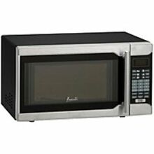 Avanti MO7103SST 0 7 Cubic Feet Freestanding Microwave   700 Watts   Stainless S