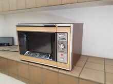Vintage Sharp Microwave Oven Model R 6460A Antique Works 1976 Retro Style
