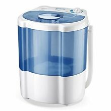Mini Washing Machine Compact Portable Semi Automatic Timer 8 Lbs Capacity