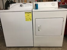 GE Washer   Frigidaire Electric Dryer  Lightly used  Stored last three years