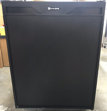 U LINE  U CO75B 02  Refrigerator  Freezer with Ice Maker Black