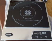Max Burton Deluxe Induction Cooktop 1800 Watts Model 6200  HotPlate
