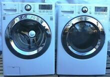 PICKUP LG SET Washer   Electric Dryer Washing Machine WM3670HWA DLEX3370W White