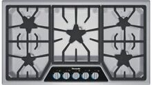 Thermador 36 Inch Masterpiece Series Gas Cooktop SGSL365KS