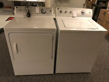 GE white washer and dryer set  Used  Good condition  Local pick up only