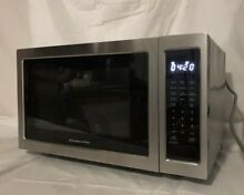 Scratch   Dent Kitchenaid Architect 1 6 Cu Ft  Stainless Microwave Kcms 1655BSS