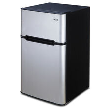New Compact 3 2 Cu Ft Fridge Mini Dorm Office Refrigerator Small Freezer Cooler