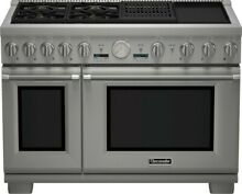 THERMADOR PRD484NCGU 04 48 Inch Pro Style Dual Fuel Range
