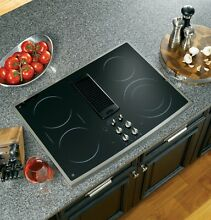 GE Profile PP989SNSS 30  Smoothtop Electric Downdraft Cooktop