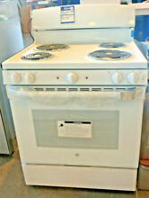 New GE 4 burner and stove electric Range