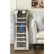 Element by Vinotemp 21 bottle Dual zone Thermoelectric Mirrored Wine Cooler