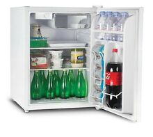 Commercial Cool Compact Single Door Mini Fridge and Freezer  2 6 Cu  Ft  White