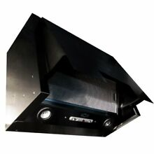 NT AIR Stainless Steel Pull out Cabinet Mount Range Hood  36 inches