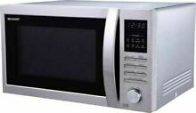 SHARP R 322STM 25L Solo Microwave Oven  Stainless Steel  900W