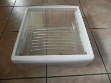 Whirlpool Refrigerator Glass Shelf WV12883508SP   Snack Pan Bin WPW10319333