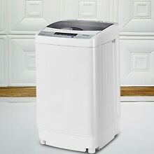 Giantex EP23113 Portable Washing Machine with Drain Pump 1 6 Cu ft White NEW