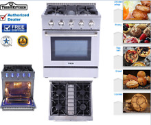 30  Thor Gas Range HRG3080U Professional Stainless Steel 4 Burner Updates