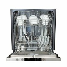 ZLINE 24 in  Top Control Dishwasher in Custom Panel Ready with Stainless Steel