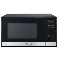 Panasonic Compact Microwave Oven  Easy Clean Interior  Popcorn Button  Child and