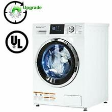 Washer Dryer Combo 24  Compact Laundry With 2 7Cubic  Ft  Capacity Electric And