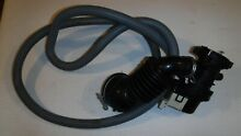 Splendide WD 2100XC WASHER DRYER COMBO PUMP W  CONNECTING   DRAIN HOSE 3969712