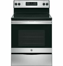 GE JBS60RKSS 30  5 3 Cu Ft  Stainless Steel Smoothtop Electric Range
