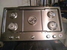 KITCHENAID KCGS556ESS 36  NATURAL GAS LP COOKTOP  STOVE  RETAIL  1599