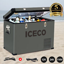 ICECO VL45 12V DC AC Portable Car Freezer Refrigerator 45L Compact Fridge RV