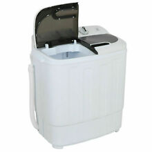 RV Washer Dryer Combo XL Portable Washing Machine Small Best Mini Twin Tub Dual