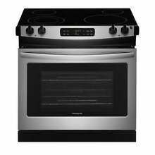 Frigidaire 30  Drop In Electric Range   Stainless Steel