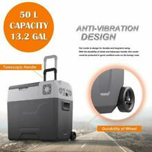 50L 52QT Portable Mini Freezer Cooler 12V AC DC Compressor Refrigerator Fridge