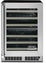 Viking VWUI5240GRSS 5 Series 24 Inch Built In and Freestanding Wine Cooler
