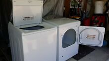 Kenmore Top Load Washer w  detergent dispenser  and Kenmore Gas Dryer