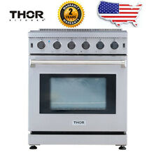 LRG3601U Thor Kitchen Stainless Steel Kitchen 36inch Gas Range Stove Oven US