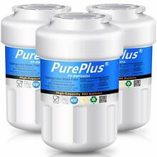 3 Pack  Refrigerator Water Filter Fits GE MWF SmartWater MWFP HDX FMG 1 WFC1201