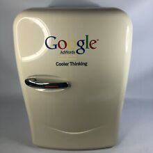 Google Mini Refrigerator Cooler Warmer Memorabilia Genuine Portable 20L Fridge