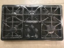 GE Profile 5 burner gas cooktop  reclaimed building materials  good condition