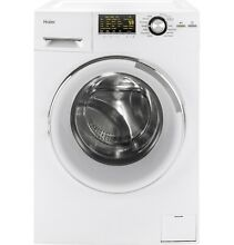 HAIER HLC1700AXW 2 Cu  Ft  8 Cycle Compact Washer   3 Cycle Electric Dryer Combo