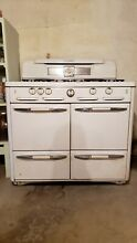 Vintage 1940 s Roper gas stove  range and double oven