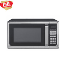 Microondas Digital Microwave Oven Touch Screen Stainless Steel Counter 1 6 Cu Ft